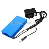 12v battery - 6800mAh for DC V Super Protable Rechargeable switch Lithium ion Battery Pack US Plug For Cameras camcorders