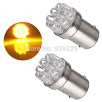 Wholesale Best Price LED BA15S White Amber Yelllow Car Auto Parking Tail Brake Turn Signal Bulb Lamp DC12V