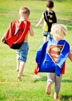 art america tv - New Custom your Logo or Art party favor kid gift SUPERHERO KIDS CAPE Superman Batman Spiderman Captain America Batgirl Supergirl