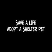 animal shelter cat - Car Stickers Save A Life Adopt A Shelter Pet Sticker Cute For Car Window Vinyl Decal Animal Dog Cat Rescue