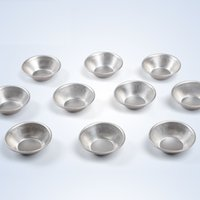 bake tins - Price Egg Tart Aluminum Cupcake Cake Cookie Mold Lined Mould Tin Eggtart Baking Tool order lt no track