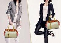 oppo bag - 2014 BEST high quality real OPPO brand leather handbag for women Vintage fashion Chain orange design bag Promotion86115