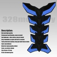 Wholesale Motorcycle Tuning Parts personality exquisite high quality silicone fish bone paste dimensional tank stickers