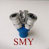 Wholesale SMY Way Pneumatic Air Quick Connecting Coupler Self lock Pneumatic Pipe Fittings