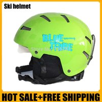 Wholesale New brand Ski helmet Ultralight and Integrally molded professional Snowboard helmet Unisex Skate board helmet Dropshipping
