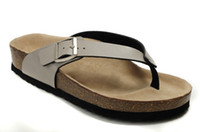 Wholesale unisex shoes Cork sandals Flat Sandals Platform Casual Beach Slippers big size