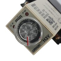 Wholesale Top Quality AC V Minute H3Y Base Power On Time Delay Solid State Timer Relay DPDT