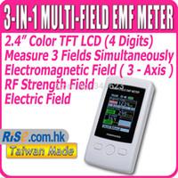 Wholesale Gauss axis Magnetic Electric RF Field Strenght Digital Electromagnetic Radiation Detector TM Multi Field EMF Meter TM190