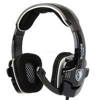 Cheap SADES SA-922 Game Headset PS3 7.1 Surround Sound Effect USB Gaming Headphones with Mic for PC PS3 XBOX One Headset