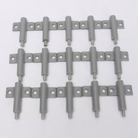 Wholesale 15Set Professional Grey Cabinet Catches Kitchen Door Buffer Cabinet Door Drawer Soft Quiet Closing