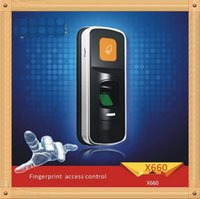 Wholesale so easy X660 administrator card add delete user Fingerprint access control system KHZ Rfid control