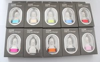 Wholesale Micro Auto Universal Dual Port USB Car Charger For iPhone iPad iPod A Mini Car Charger Adapter Cigar Socket