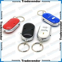 findings - LED Key Finder Locator Find Lost Keys Mobile Wallet Chain Mobile finder Purse Finder Keychain Whistle Sound Control