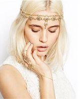 beaded wedding jewellery - wedding jewellery Bridal crystal pearl Zinc Alloy headband Shining Beaded Party Wedding Tiara