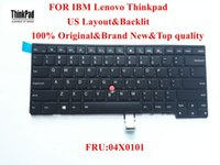 Wholesale 100 Brand New Original laptop Keyboard for lenovo Thinkpad T431s T440 T440p T440s Keyboard US Layout with Backlit FRU X0101