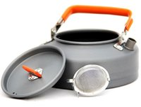 aluminum tea kettle - Outdoor picnic portable coffee maker tea maker camping coffee kettle Coffee Maker