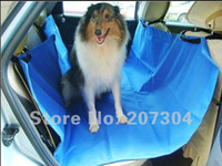 Wholesale 100pcs Brand New Hammock CD Pet Dog Cat Car Seat Cover Washable and waterproof cm By DHL