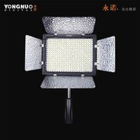 Wholesale YONGNUO YN II YN II LED Video Light Camera Camcorder Color K K with Remote Control controlled for Canon Nikon SONY PENTAX