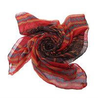 korean style blankets - Vintage Women Voile Scarves Korean Style Ladies Summer Beach Blanket Silk Scarf Wrap Shawl EUF4