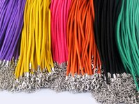 Chirstmas beautiful cords - inch beautiful flat faux suede leather necklace cord for color choose