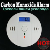 Wholesale High Quality Home Safety CO Carbon Monoxide Poisoning Smoke Gas Sensor Warning Alarm Detector Kitchen Alarm Detector Tester LCD