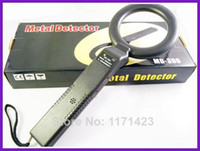 Wholesale Hand Held High sensitivity Scanner Metal Detector MD With Sound and Light Alarm And Vibration Alarm