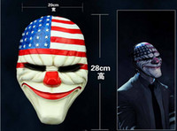 horror - 1 Halloween Horror Mask Collectibles Payday theme Edition game series of high grade resin mask