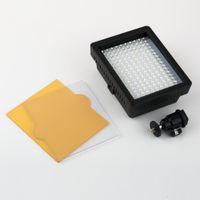 jvc video camera - 1 New WanSen W160 LED Video Camera Light Lamp DV For CANON for NIKON JVC V W Drop Shipping