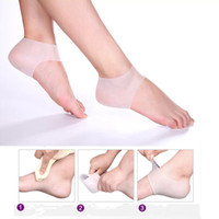 Wholesale High quality new style silicone heel crack soften calluses care set Whitening sock relieve heel pain heel protector sleeve