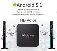 Wholesale USA DHL Free Ship MXQ Pro Android Digital TV Streaming Box Amlogic S905 Quad Core G G Android HDMI WIFI K Smart Media Player