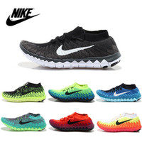 Cheap Nike Men's FLYKNIT Free 3.0 2015 Running Shoes 100% Original Men's Running shoes Cheap Best Tennis Jogging Shoes fashion Mens Free Shipping