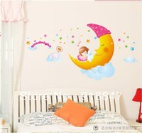 baby nursery products - x90cm Sweet Dream New Product Wall Decals Removable Stickers Baby Art Kids Nursery Room Mural Sticker