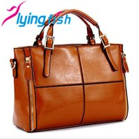 real leather designer handbags - Real genuine leather bags women handbag fashion patchwork designer brand high quality ladies office messenger shoulder bags