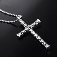 wholesale cross pendants - Classic Cross Pendant Necklace For Man Gift