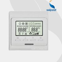Wholesale Saipwell Hot Sale Underfloor Heating Themrostat LCD Display Room Thermostat Quality Products