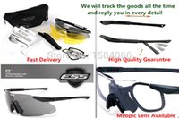 Wholesale lens set High quallity Fast Delivery ESS ICE Crossbow Glasses Tactical Army Goggles TR90 outdoor Hunting Wargame