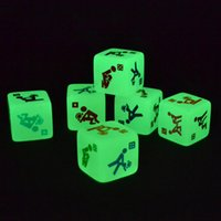 glow in dark products - TOP PC Glow In The Dark Erotic Dice Night Lights Love Dice Sex Fun Toys Noctilucent Sex Product for Adult Games cmx2 cm