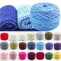 Wholesale Hot Sales Clothing Fabric New Knitting Wool Yarn Ring Spun craft Smooth Cotton Natural Double Ball g CX49