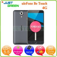 "Cheap 5.5"" 1280x720 Ulefone Be Touch 4G Octa Core 3GB RAM 16GB ROM Mobile Phone MTK6752 1.7GHz 5MP+13MP Camera Dual SIM GPS Android 4.4 Phones"