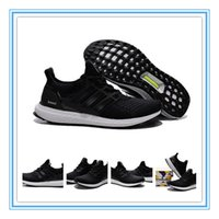 Wholesale 2015 Release Ultra Boost Men s Athletic Shoes Mens Sports Running Shoes Black