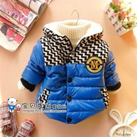 bay clothes - Children s Outwear winter models of bay boys wavy fur cotton coat children s clothing GW243