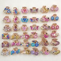 Wholesale Cheap Fashion Multicolor Rhinestone Leaf Hair Clamps Many Styles Hair Accessory Women s Accessory Hair Jewelry Mixed Styles