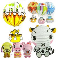 bear gift ideas - Cartoon Bear Zodiac Paper Lanterns New Year Lantern Festival Day Gift Ideas Handmade DIY Portable Lanterns
