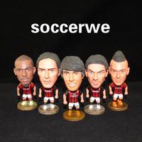 Wholesale Football fans supplies AC Kaka Maldini Inzaghi Nesta Milan star dolls