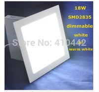 auto super market - Hot Room Stroe Super Market W Square led panel light ceiling Super Bright Warm White Light AC85 V