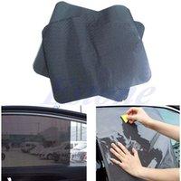 Wholesale Pc Car Side Rear Window Sun Block Static Cling Shade Cover Visor Shield Screen order lt no track