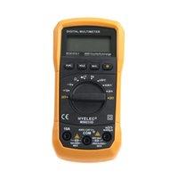Wholesale HYELEC MS8233D Counts Professional Digital Electrical Handheld Tester LCD Autorange Display Multimeter Multimetro