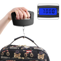 Wholesale High Quality Pc Black LED Digital Kg g Fish Hook Hanging Electronic Weighting Lage Scales
