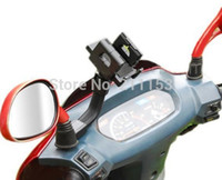 bags motorcycle parts - obile Phone Accessories Parts Mobile Phone Holders Stands New Popular Motorcycle Mirror Stand Bracket Scooter Holder with Waterproof Bag