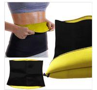 Wholesale 6 sizes Hot Neoprene Slimming Waist Belts Cinchers Body Shaper Slimming waist training corsets bodysuit women R0704